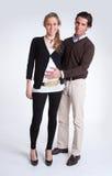 behandla som ett barn par som förväntar Royaltyfria Foton