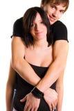 behandla som ett barn par som förväntar barn Royaltyfri Fotografi