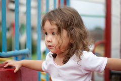 behandla som ett barn parken Royaltyfria Foton