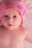 behandla som ett barn pinken Fotografering för Bildbyråer