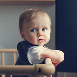 behandla som ett barn playpenen Royaltyfria Foton