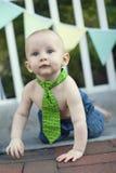 behandla som ett barn pojkedeltagaren Royaltyfria Foton