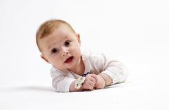 Behandla som ett barn pojken royaltyfri bild