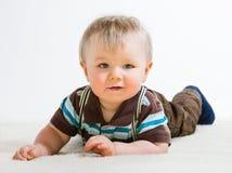 Behandla som ett barn pojken Fotografering för Bildbyråer