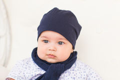 Behandla som ett barn pojken, 3 gamla månader Royaltyfri Foto