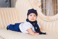 Behandla som ett barn pojken, 3 gamla månader Royaltyfri Fotografi