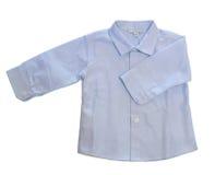 Behandla som ett barn pojkeskjortan arkivfoton
