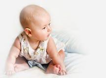 Behandla som ett barn profilen Arkivfoto