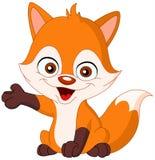 behandla som ett barn räven vektor illustrationer