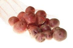 behandla som ett barn röda potatisar Royaltyfri Fotografi