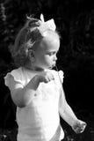behandla som ett barn retro Fotografering för Bildbyråer