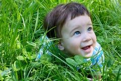 behandla som ett barn roligt utomhus- Royaltyfria Bilder