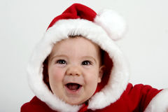 behandla som ett barn santa Royaltyfri Fotografi