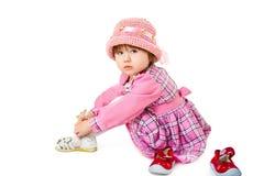 behandla som ett barn skönhet royaltyfri fotografi