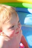 behandla som ett barn sommarsunen Fotografering för Bildbyråer