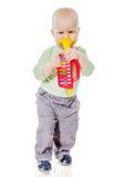 Behandla som ett barn spela röret fotografering för bildbyråer