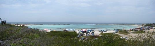 2007 04 07 behandla som ett barn stranden Aruba Royaltyfri Fotografi