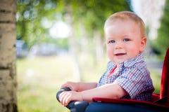 behandla som ett barn strolleren Royaltyfri Foto