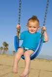 behandla som ett barn swing Royaltyfri Fotografi