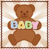 Behandla som ett barn Teddy Bear Royaltyfria Bilder