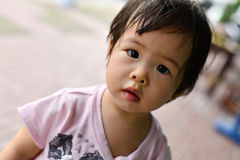 behandla som ett barn thai Royaltyfri Foto