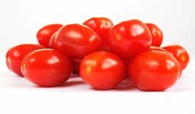behandla som ett barn tomater för gruppplommonpomodorinoen Royaltyfri Bild