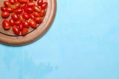 Behandla som ett barn tomater plommon Körsbärsröda tomater E På Fotografering för Bildbyråer