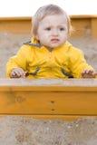 behandla som ett barn utomhus- Arkivfoto