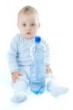 behandla som ett barn vatten Royaltyfria Bilder