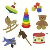behandla som ett barn vektorn för toys för symbolsillustrationtoyen Royaltyfri Foto