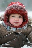 behandla som ett barn vintern Royaltyfri Bild