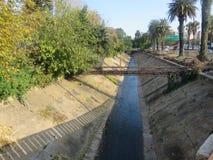 behandlat förlorat vatten royaltyfri foto