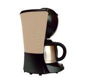 behandling för förberedelse för foto för maskin för kaffeespressoexponering lång Royaltyfri Bild