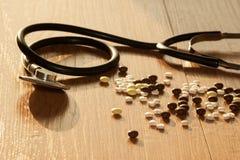 Behandlung der Herzkrankheit Lizenzfreie Stockfotos