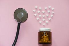 Behandlung der Herzkrankheit stockfoto