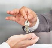 Behandlung von Schlüsseln Lizenzfreies Stockfoto