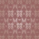 Behang Etnisch met Batikvorm Royalty-vrije Stock Afbeeldingen