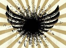 Behang Grunge Stock Fotografie