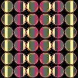 Behang - Kleurencirkels Royalty-vrije Stock Foto