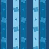 Behang naadloze patronen met samenvatting geschilderde vierkanten Royalty-vrije Stock Afbeeldingen