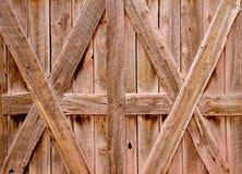 Behang, Oude staldeuren. stock afbeelding