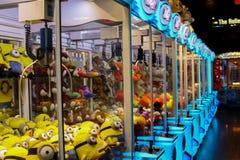 Behang: Stuk speelgoed machines stock fotografie