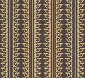 Behang Thais patroon Stock Afbeelding