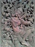 Behang van de antiquiteiten het Aziatische muur Royalty-vrije Stock Fotografie