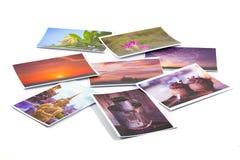 Behangachtergrond van beeldcollage Royalty-vrije Stock Foto's