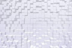 Behangeffect 3d blokstijl Stock Afbeelding