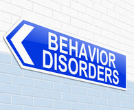 Behavior disorders concept. Stock Images