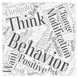 Behavior modification 04 word cloud concept  background. Text Stock Photography