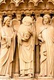 Beheaded saint Royalty Free Stock Image