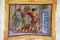 The Beheading of John the Baptist Royalty Free Stock Images